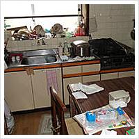 ゴミ屋敷の清掃・片付け